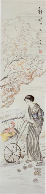 TakehisaYumeji-EarlyShōwa-A Fine Day in Autumn