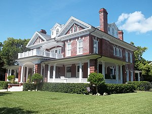 Hyde Park (Tampa) - Home in the Hyde Park Historic District.