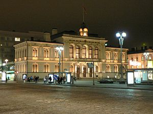 "Tampere - The Renaissance Revival Raatihuone (City Hall), 1890; the ""red manifesto"" was read from its balcony in 1905."