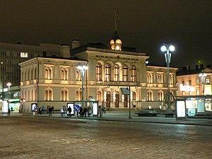 Tampereen kaupungintalo P-1
