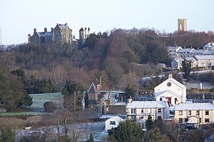 Tandragee - Tandragee Castle and gate lodge