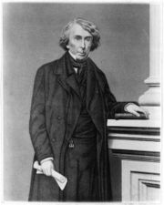 Engraved portrait of Chief Justice Taney