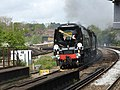 Tangmere with the Golden Arrow Statesman from Derby to Canterbury West (14037773793).jpg
