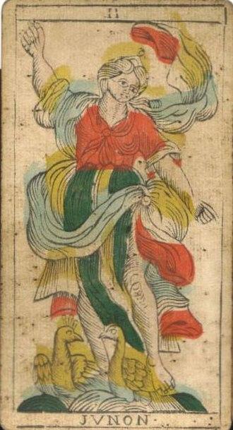 Tarot of Marseilles - Juno