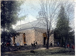 The Old Dutch Church in 1907