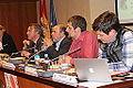Tasio Oliver (IU), Florent Marcellesi (EQUO), Enrique Guerrero (PSOE), Salvador Garriga (PP) y Maria Rosa Rotondo.jpg