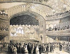 Georgian National Opera Theater - Grand opening, 12 April 1851