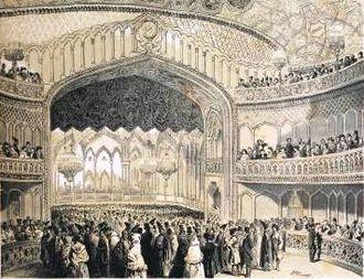 Georgian National Opera Theater - Grand opening, 12 April 1851