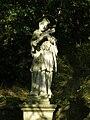 Telč, socha, sv. Jan Nepomucký 01.jpg