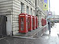Telephone kiosks, Abingdon St, Blackpool.jpg