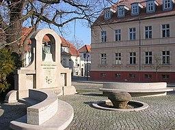 Teltow1 Marktplatz Stubenrauch Denkmal