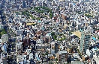 Tennōji-ku, Osaka - Buildings in Tennōji-ku
