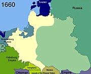 Territorial changes of Poland 1660