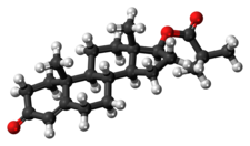 Testosterone isobutyrate molecule ball.png