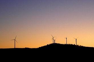 Tharsis, Huelva - Wind turbines in Tharsis