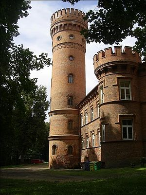 Raudonė Castle - The Tower of Raudonė Castle