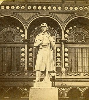 Carl Conrads - The American Volunteer, at the 1876 Centennial Exposition. Installed at Antietam National Cemetery in 1880.