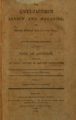 The Anti-Jacobin Review and Magazine, or, Monthly Political and Literary Censor (1799, Vol. 1; London).png