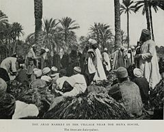 The Arab Market in the Village Near the Mena House. (1911) - TIMEA.jpg