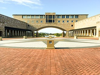 Bond University - The Arch Building, Faculty of Society and Design and the John and Alison Kearney Main Library