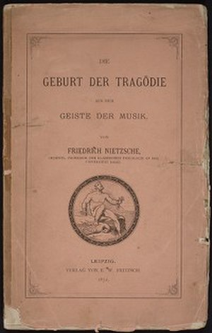 The Birth of Tragedy - The German first edition