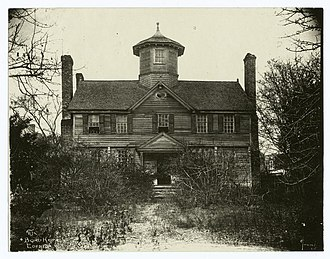 Chowan County, North Carolina - The Bond House, Edenton, Chowan County, c. 1920