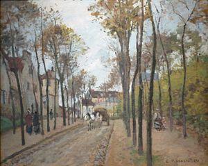 The Boulevard des Fossés, Pontoise