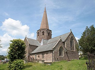Church of St Nicholas, Grosmont Church in Monmouthshire, Wales