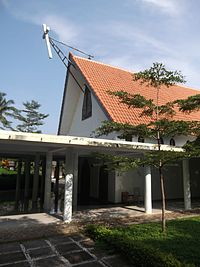 The Church of the Monastery of Saint Mary Rawaseneng (right side view).jpg