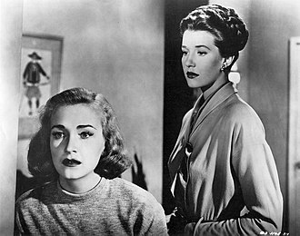 The Dark Past - Nina Foch and Lois Maxwell in The Dark Past