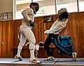 The Epee fencer Dimitris Makris at Athenaikos Fencing Club.jpg