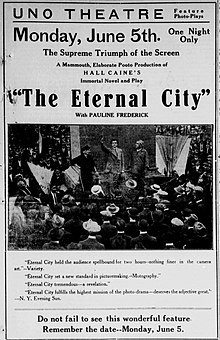 The Eternal City (1915 film) - Wikipedia