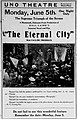The Eternal City - newspaper - 1916.jpg