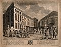 The Foundling Hospital, Holborn, London; a perspective view Wellcome V0013442.jpg