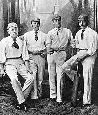 George Gibbons Hearne - George Hearne far right