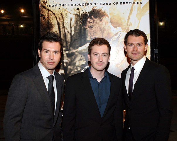The Pacific miniseries stars attend HBO screening.jpg
