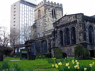 St Andrew's Church, Newcastle upon Tyne - Image: The Parish Church of St Andrew, Newcastle upon Tyne geograph.org.uk 1160558