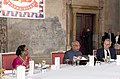 The President, Shri Ram Nath Kovind at the banquet lunch hosted by the President of the Czech Republic, Mr. Milos Zeman, at 1st Courtyard, in Prague, Czech Republic on September 07, 2018.JPG