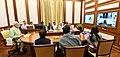 The Prime Minister, Shri Narendra Modi chairing twenty- ninth interaction through PRAGATI - the ICT-based, multi-modal platform for Pro-Active Governance and Timely Implementation, in New Delhi on September 26, 2018 (1).JPG