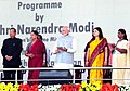 The Prime Minister, Shri Narendra Modi launching the expansion of Beti Bachao Beti Padhao programme, at a function, in Jhunjhunu, Rajasthan.jpg
