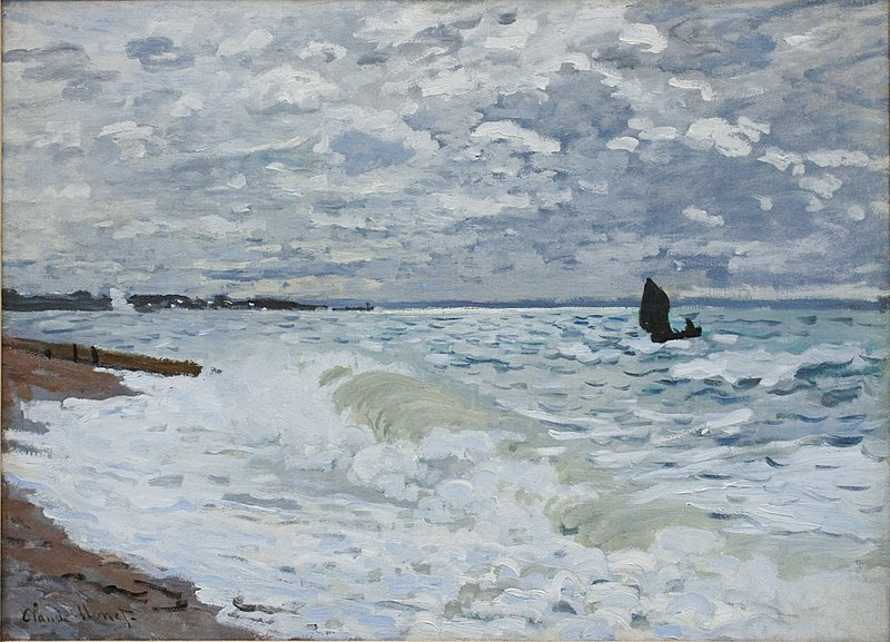 File:The Sea at Le Havre 1868.jpg