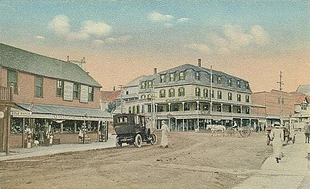 The Square, Short Sands Beach at York Beach, c. 1915 The Square, York Beach, ME.jpg