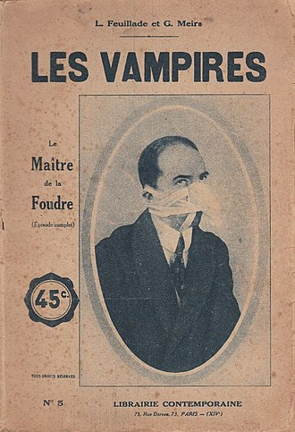 Novelization - Novelization of chapter 8 of the film series Les Vampires (1915–16).
