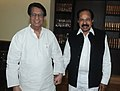 The Union Minister for Civil Aviation, Shri Ajit Singh meeting the Union Minister for Petroleum & Natural Gas, Dr. M. Veerappa Moily, in New Delhi on December 04, 2012.jpg