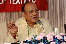 The Union Minister for Textiles, Shri Shankersinh Vaghela addressing a press conference in connection with the 'TEX Summit' in New Delhi on August 30, 2007.jpg