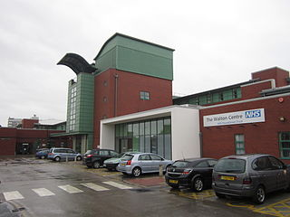 Hospital in Fazakerley, Liverpool