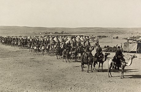 The camel corps at Beersheba2.jpg