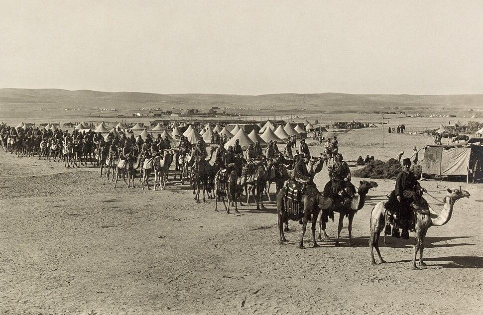 The camel corps at Beersheba2
