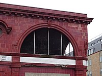The disused CCE&HR station building on the corner of Drummond Street and Melton Street 04.jpg