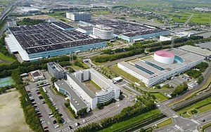 Aisin Seiki - The headquarters of Aisin AW